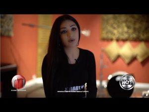 Ghezaal Enayat дар RaminMansour Production Studio