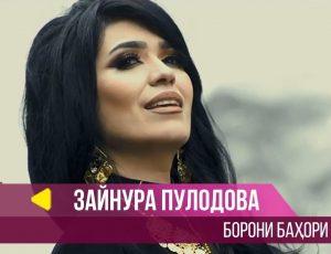 Зайнура Пулодова - Борони бахори