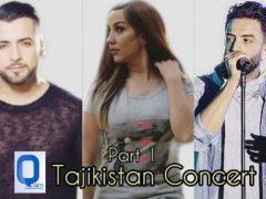 Valy, Benyamin Bahadori & Mahiri Tahiri - Tajikistan Concert Part 1(1)