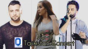 Valy, Benyamin Bahadori & Mahiri Tahiri - Tajikistan Concert Part 1(2)