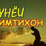 Amid - Дунёи имтихон